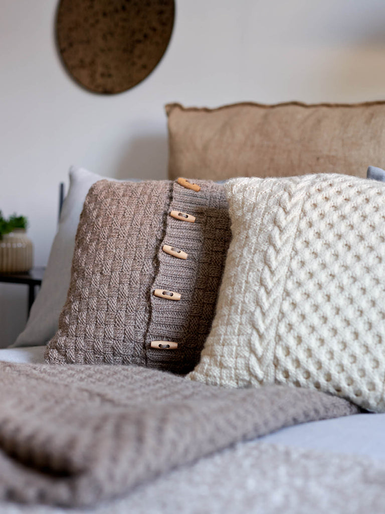 Honeycomb Basket Blanket and Cushions