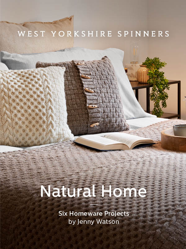 Natural Home Pattern Book by Jenny Watson