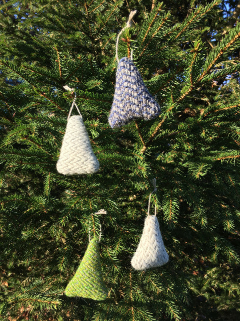 Handwoven Fir Trees by Weft Blown