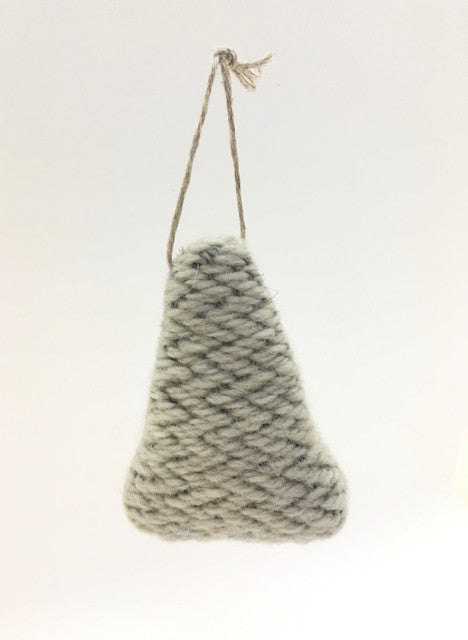 Handwoven Fir Tree - Ice
