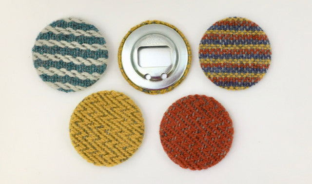 Handwoven Bottle Openers by Weft Blown