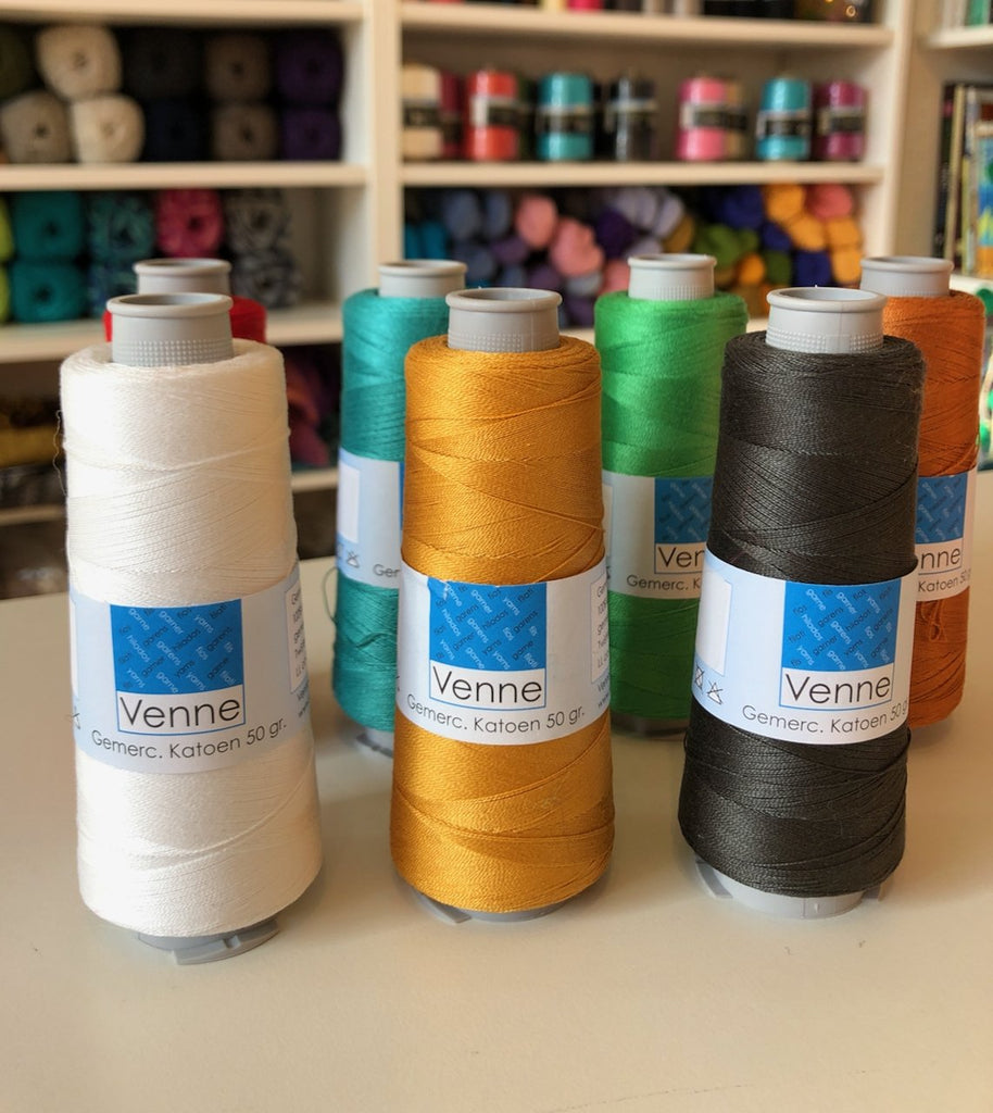 Venne 20/2 Mercerised Cotton 50g
