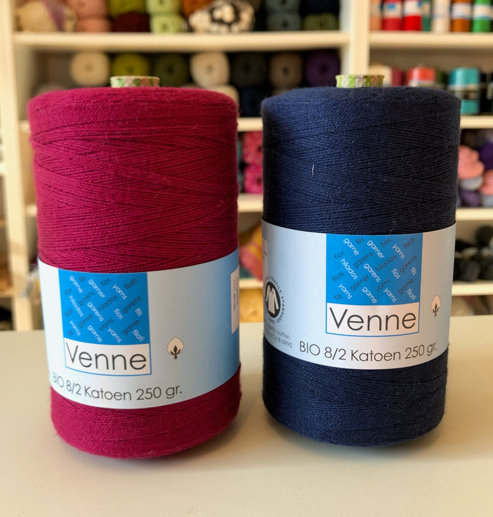 Venne Unmercerised 8/2 Organic Cotton 250g