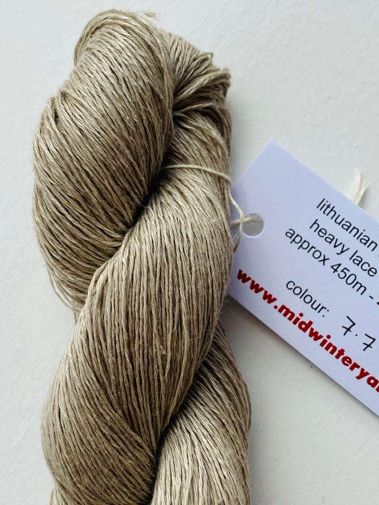 Lithuanian Linen by Midwinter Yarns - Colour 7.7