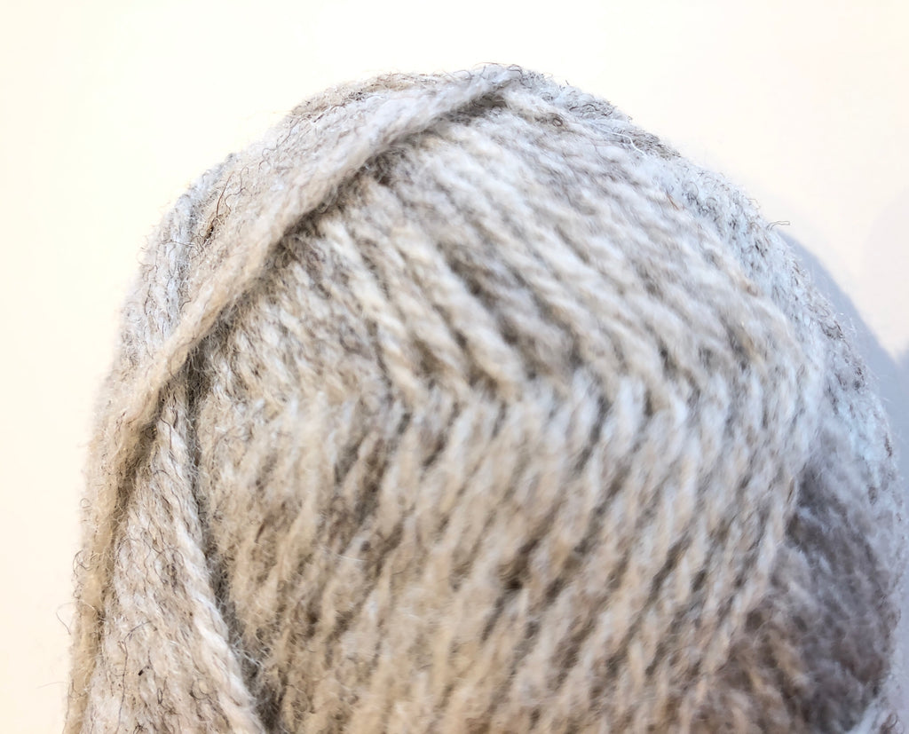 Millside Blue Texel Wool - Pale Grey