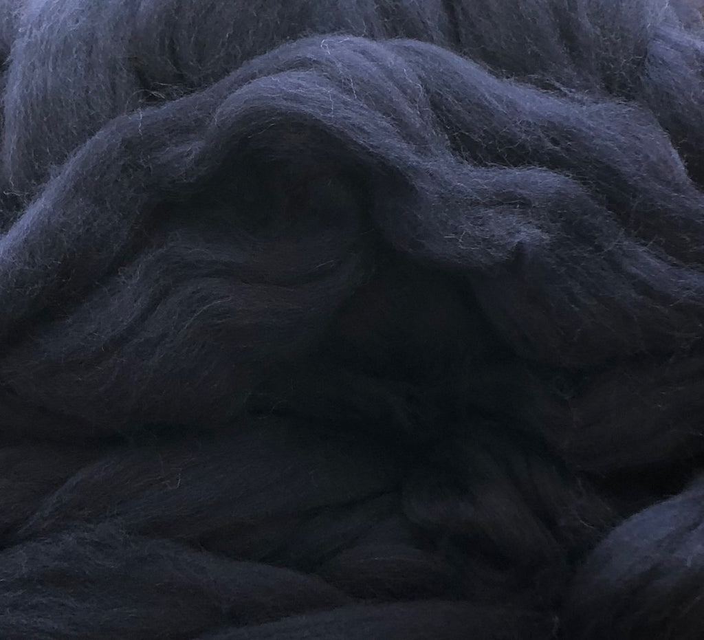 Shetland Wool Top - Midnight