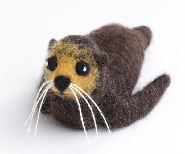 Ashford Sammy the Seal Needle Felting Kit
