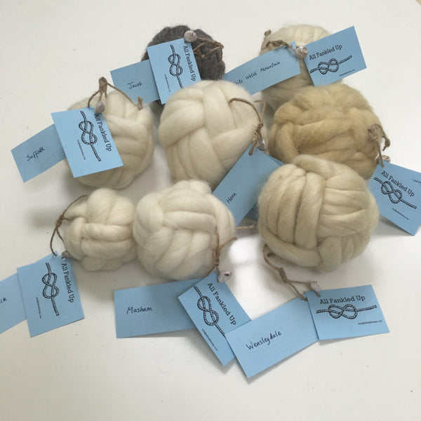 Woollen Turks Head Knots Paperweights by All Fankled Up