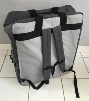 Louët Travel/Storage Bag for S10C Spinning Wheel - Back - WeftBlown