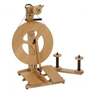 Louët S96 Victoria Spinning Wheel (Oak)