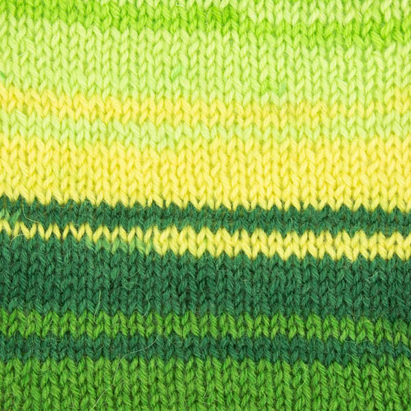 Spring Green Knitted Swatch