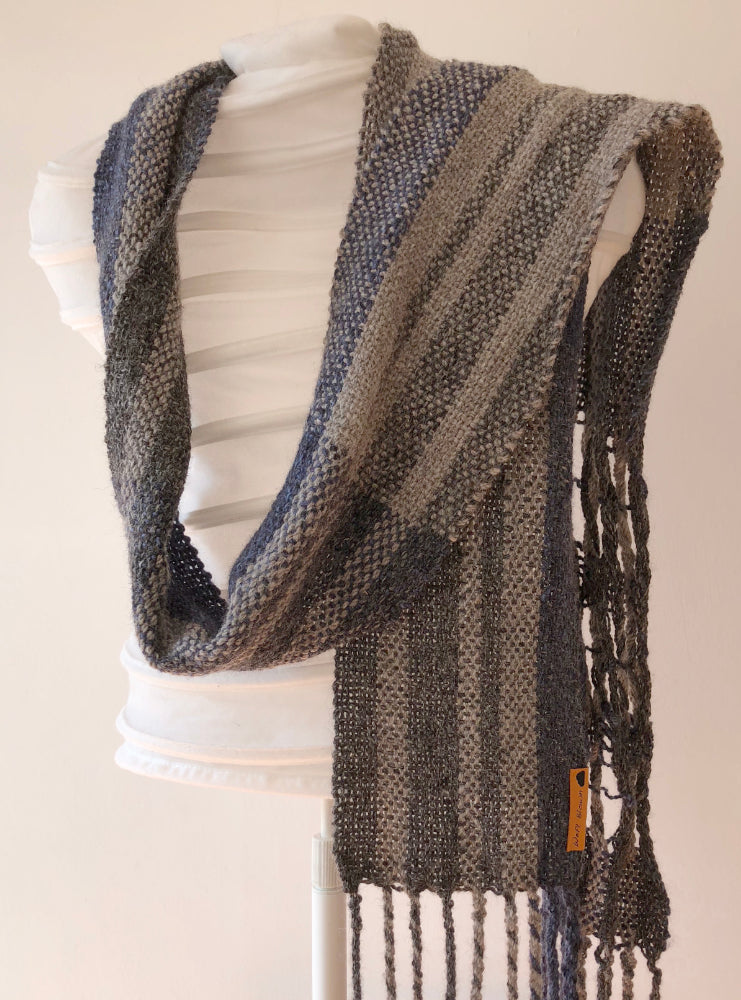 Storm Handwoven Scarf