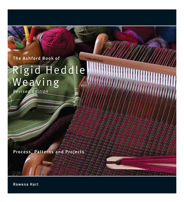 Ashford Book of Rigid Heddle Weaving by Rowena Hart