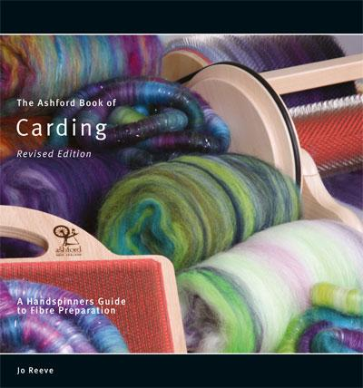 Ashford Book of Carding by Jo Reeve book