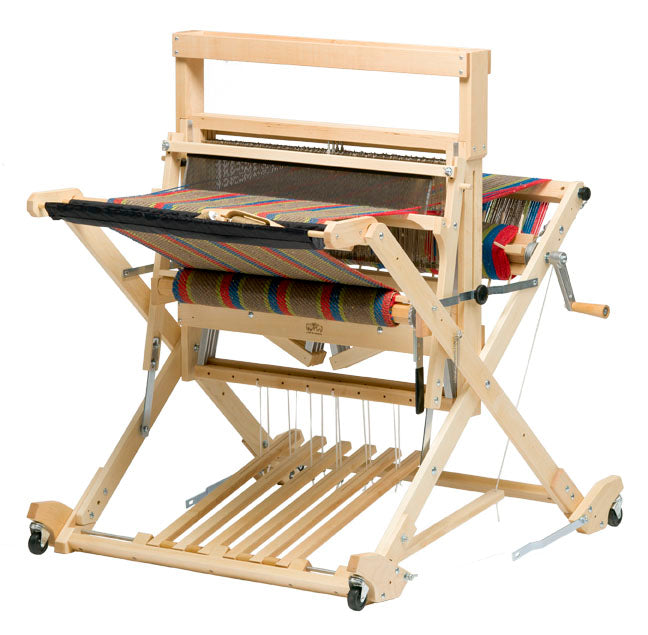 Schacht Baby Wolf Loom with optional High Castle Tray