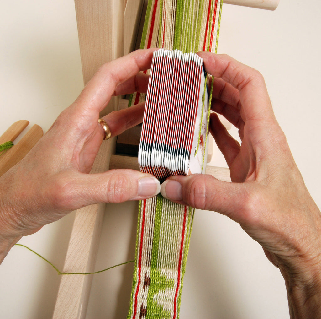 Card Weaving by hand