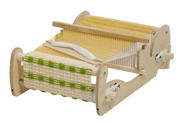Schacht Cricket Rigid Heddle Loom - Heddle in Down Position
