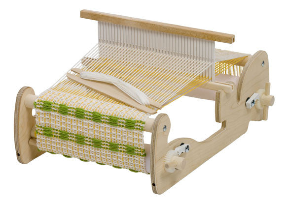 Schacht Cricket Rigid Heddle Loom - Heddle in Up Position