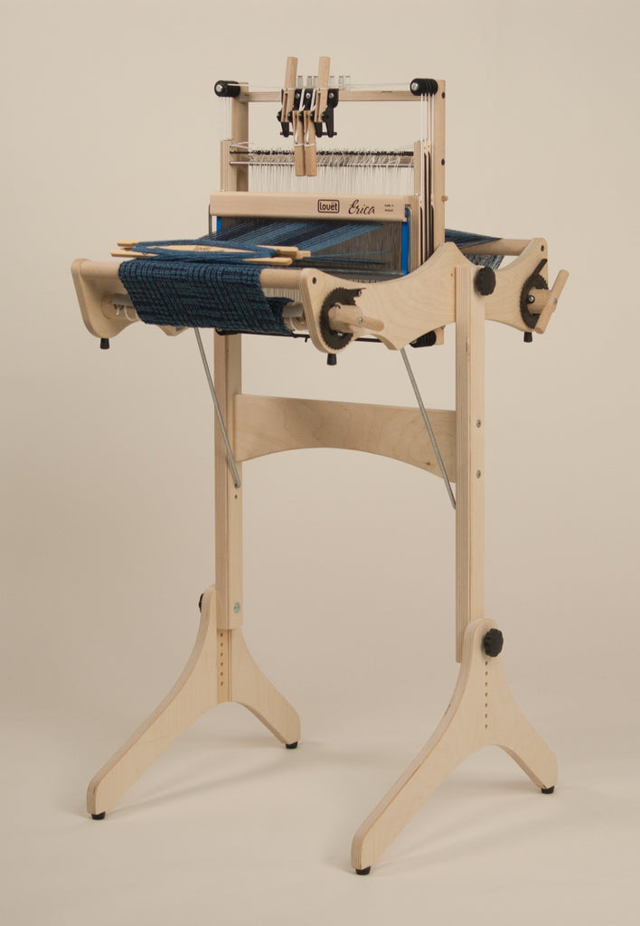 Louët Erica 4 Shaft Table Loom on Optional Stand