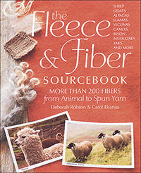 Fleece and Fibre Sourcebook by Deborah Robson and Carol Ekarius at Weft Blown