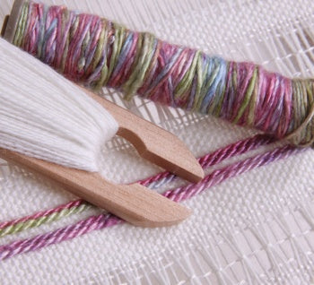 Cloth Handwoven on an Ashford Knitters Loom