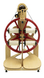 Schacht Ladybug spinning wheel plus lazy kate and bobbins