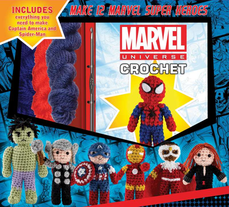 Marvel Universe Crochet By Kati Galusz