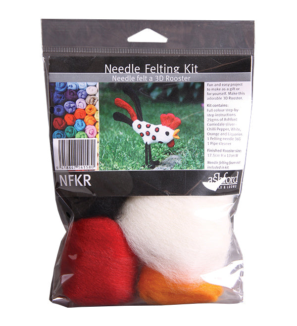 Ashford Needle Felting Kit - Rooster