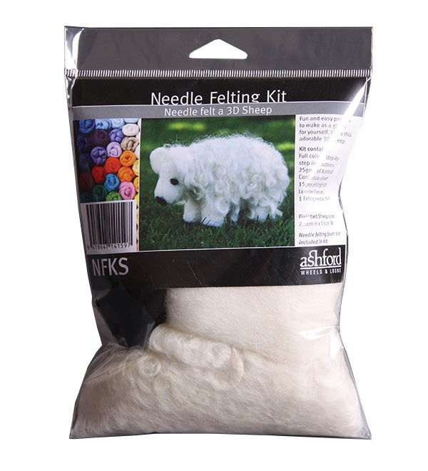 Ashford Needle Felting Kit - Sheep