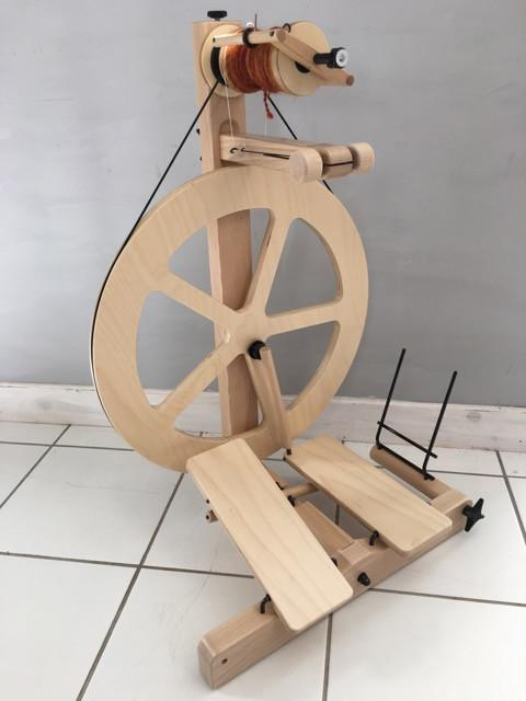 Louët S10 Concept Spinning Wheel - 5 Spokes