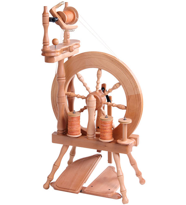 Ashford Traveller Spinning Wheel Lacquered