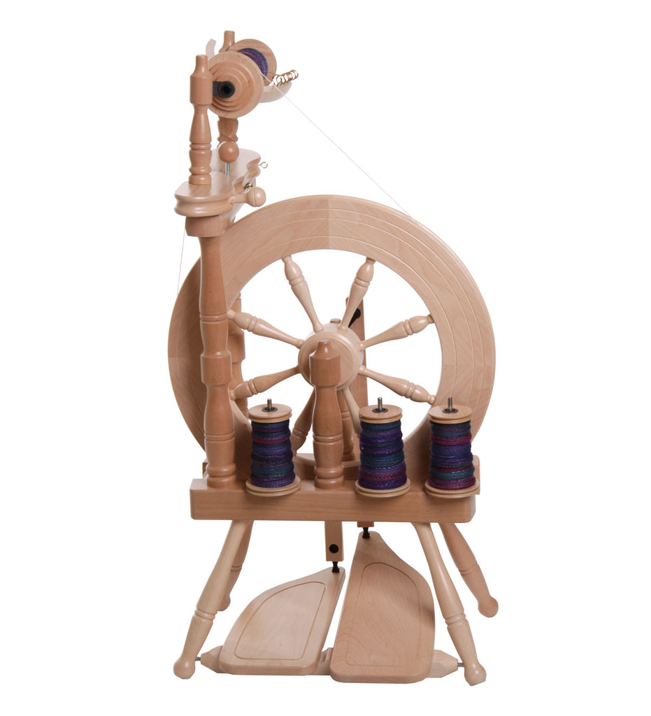 Ashford Traveller Spinning Wheel Natural