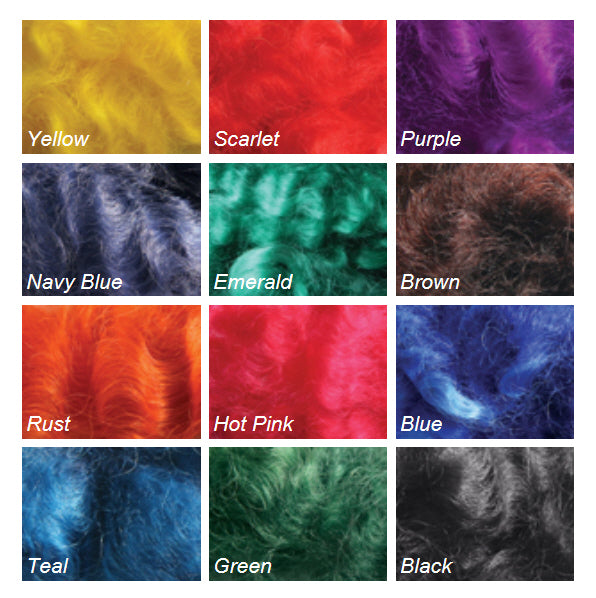 Ashford Wool Dye Colours