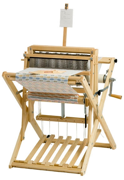 Schacht Wolf Pup LT 4 Shaft Floor Loom - Treadle tracker
