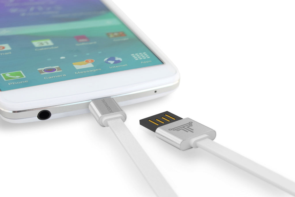 SmartLine 2.0 | Anti-Tangle Micro USB Cable with Rapid Sync & Charge