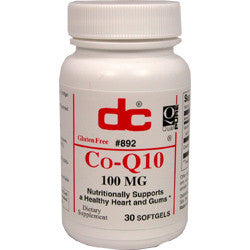 Co-Q10 100mg 30 softgels