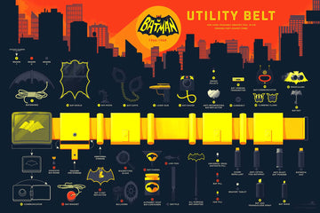 INFO•RAMA: BATMAN 66 UTILITY BELT (REGULAR VERSION)
