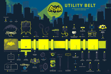 INFO•RAMA: BATMAN 66 UTILITY BELT (VARIANT VERSION)