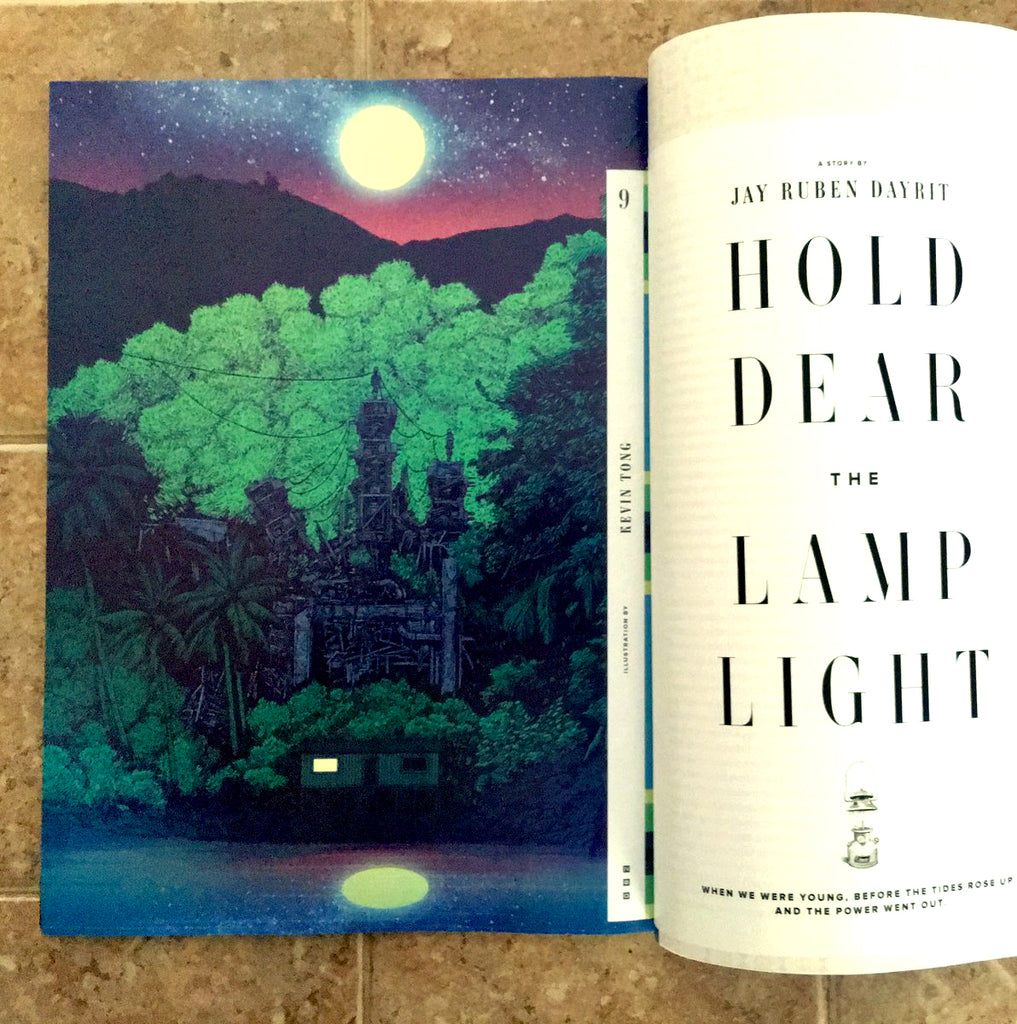 """HOLD DEAR THE LAMP LIGHT"" for WIRED Magazine"