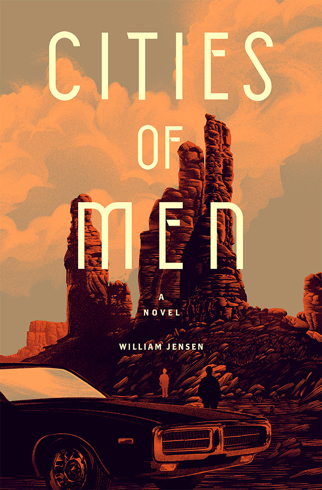 """CITIES OF MEN"" Book Cover for TURNER PUBLISHING"