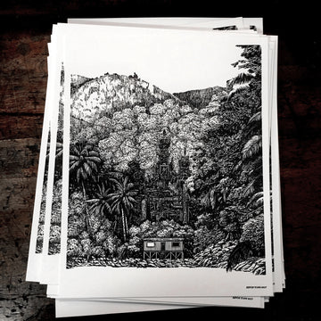 Jungle Letterpress Prints