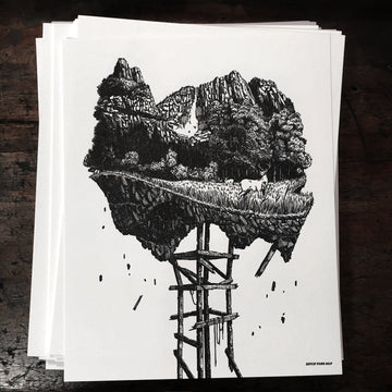 Yosemite Letterpress Prints