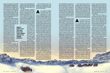 """PLEISTOCENE PARK"" for THE ATLANTIC (Spread Two)"