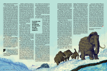 """PLEISTOCENE PARK"" for THE ATLANTIC (Spread Six)"