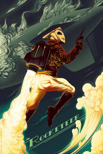 THE ROCKETEER (Regular Color)