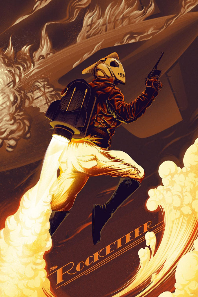 THE ROCKETEER (Variant Color)