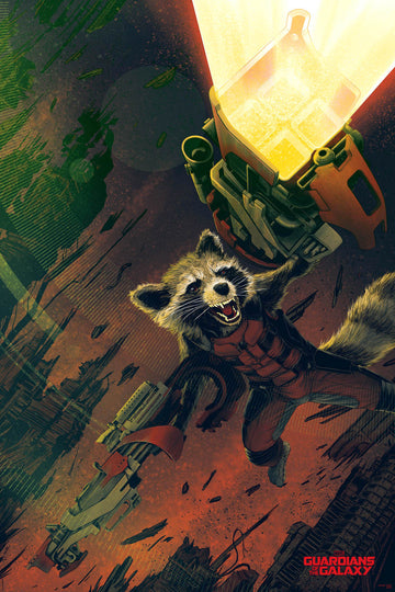 ROCKET RACCOON (VARIANT VERSION)