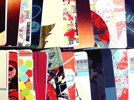 SKETCHBOOKS MADE FROM POSTERS
