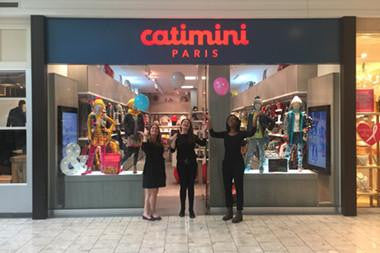 Welcome to Catimini's grand opening at Short Hills!