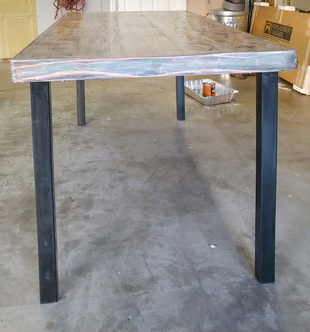 Pillar metal table legs by Symmetry Hardware
